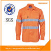 Overhemd van het Werk Vis van SG van de ster hallo het Oranje met de Reflector van 5cm
