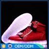صنع وفقا لطلب الزّبون إرتفاع قطعة [لد] أحذية خفيفة لأنّ نساء/رجال مع شريكات ذهبيّة