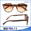 Cheap Vintage Round Frame Mulher Eyewear Glasses with Tortoise Color