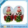 Globo de la nieve de Navidad de Polyresin (hectogramo