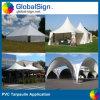 Fabbricato rivestito della tenda della tela incatramata del PVC (UCT1122/680)