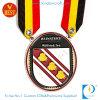 Médaille faite sur commande de souvenir d'émail d'OEM Chine avec la lanière