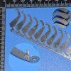 Подгонянное изготавливание части металла точности
