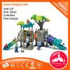 Tree ao ar livre Design Kids Slide Playgrounds para Sale