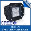 As lâmpadas da máquina nivelam a luz do trabalho do diodo emissor de luz do CREE da montagem 12W