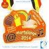 Medalha macia barato personalizada da lembrança do concerto da música do esmalte de China na liga do zinco