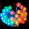 Decoração 2016 da HOME da luz da corda da esfera do partido do diodo emissor de luz para artigos do jardim