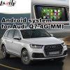 Interfaz video de la navegación del GPS del androide para el nuevo Audi Q7