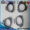 Anillo de cierre de cerámica del carburo de silicio en la alta precisión/el anillo de cierre mecánico