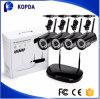 ANSCHLUSS IR-Anblick-Bewegungs-Befund der im Freienkamera-gesetzter 4CH drahtloser WiFi Ipcam des Installationssatz-720p 960p Selbst