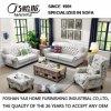 Mobília branca M3008 do hotel do sofá da tela da cor do estilo clássico
