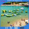 Jogos infláveis gigantes do parque da água da prova UV para miúdos e adultos