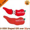 Memória Flash do USB da pimenta vermelha como os presentes vegetais (YT-Pimenta)