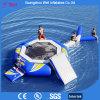 Corrediça de água do divertimento do Aqua e equipamento infláveis do parque da água do Trampoline