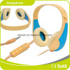 Verdrahteter Superbaß-Stereolithographie MP3-gelber Kopfhörer