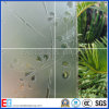 vidro geado gravado da arte de 4-19mm ácido decorativo
