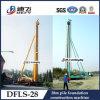 Pila hidráulico Conducción 28m Máquina Max Profundidad , DFLS - 28 Rotary equipo de perforación hidráulica