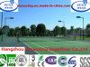 Het dubbele Regelmatige Tennis van het Hof van de Sport van de Laag Anti UV Plastic