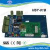 Tablero del control de acceso de la Uno-Puerta con la comunicación del TCP/IP (HSY-01B)