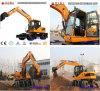 excavador 6t, 7t, 8t, 12ton de la rueda 4X4wd para la venta en Asia