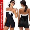 Платье пляжа самого нового сексуального светотеневого Bowknot без бретелек