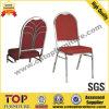 Chaise empilable de banquet en acier arrière de conception