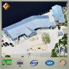 Construcción prefabricada económica y durable de las industrias pesqueras de la estructura de acero