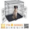 Большая стальная клетка для собаки