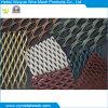 Feuille augmentée de maille enduite par poudre en métal