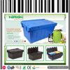 Turnover di plastica Box con Attached Lid (HBE-LB-8)