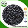 Сконцентрированное максимумом черное зернистое органическое удобрение 15-5-25 NPK