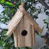 Wood bianco Handmade Bird House da vendere