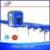 Cortadora del plasma del gas del CNC que hace frente para la viga del canal H de C