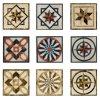 自然なMarble Floor MedallionかMarble Waterjet/Marble Pattern
