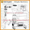 Machine en bois de boulette de pelletiseur de biomasse à vendre
