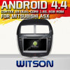 Witson Android 4.4 Car DVD para Mitsubishi Asx 2010-2011 com A9 o Internet DVR Support da ROM WiFi 3G do chipset 1080P 8g