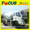 3m3 Concrete Mixer Truck/Concrete Transit Mixer para Sale