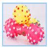Eco-Friendly Soft Dumbbell juguetes para perros con sonido