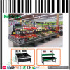 Crémaillères de fruits et légumes de supermarché de qualité