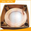 19.05*0.9mm Tp2 Non-Alloy Copper Tube, Soft Bedingung Pancake Coil Copper Tube für Air Conditioning