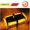 12V 24 de Noodsituatie die van de LEIDENE Stroboscoop van de Auto de Mini Magnetische Amber waarschuwt/Gele Basis van de Lichten van de Staaf