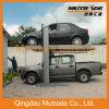 Garagem de estacionamento automotriz de dois bornes