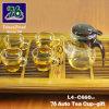 76 de nieuwe Gift van het Theekopje van het Glas van de Stijl met Infuser L4-C660