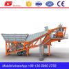 Het goed gebruikte Mobiel Beton Mengt het Groeperen Installatie 40m3 voor Verkoop