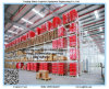 Pesado-dever Pallet Storage Rack do armazém com Wire Mesh Decking