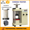 Máquina de teste da compressão do cimento