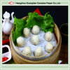 5.5  silicón Treated Non-Stick Dimsum Paper Steaming Liners para Siopao