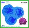 прессформы Fondant силикона картины цветков 3D