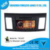 Reproductor de DVD de Car del androide 4.0 para Mitsubishi Lancer 2008-2013 con la zona Pop 3G/WiFi BT 20 Disc Playing del chipset 3 del GPS A8