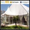 Barraca de alumínio do vidro da exposição da cerimónia de casamento do partido do jardim ao ar livre do festival